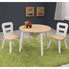 Pintoy Junior Table & Chair Set 2 | Childrens Table & Chairs ...