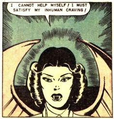Lou Cameron & Rocco Mastroserio vampire horror comic book pop art retro vintage