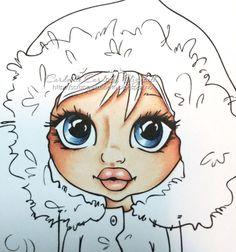 CopicMarkerNorge: Tutorial: Fargelegging av ansikt