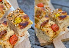 » FOCCACIA MED TOMAT