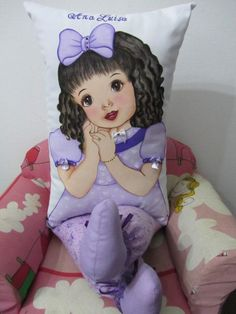 boneca almofada: