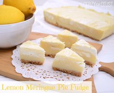 Lemon Meringue Pie F