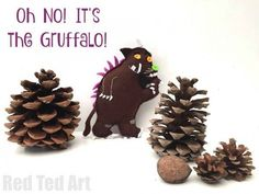 Felt Gruffalo Craft