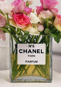 For the Fashionista's Boudoir: Designer Flowers