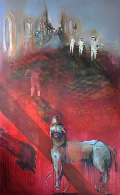 "Saatchi Art Artist Thea Vos; Painting, ""0115-01"" #art"