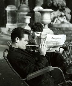 Chet in Paris, 1955-56.
