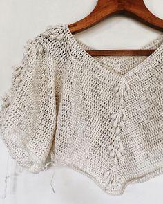 Summer Knitting Crochet Clothes Tips & Tricks Hand Sewing Dress Patterns Crochet Patterns Crochet Top Embroidery Pullover Crochet Jumper, Crochet Yarn, Knit Crochet, Crochet Designs, Crochet Patterns, Crochet Mouse, Summer Knitting, Crochet Fashion, Beautiful Crochet