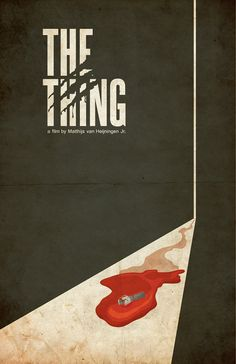 Science Fiction and Horror Movie Poster  The Thing  by TheGeekerie, $18.00