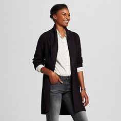 Women's Shawl Coat Open Cardigan - Merona™ : Target