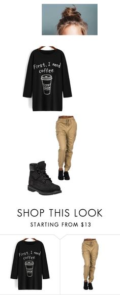 """""""Wasabi Picks Your Outfit"""" by maryvarleyrox ❤ liked on Polyvore featuring Timberland"""