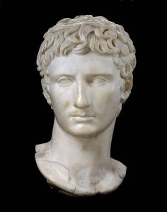Marble bust of Augustus. Roman. Imperial Period. 1st or 2nd century A.D. | Museum of Fine Arts, Boston