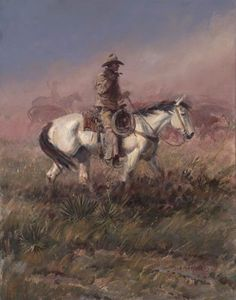 Joe Beeler / Cowboy Artists of America, founder kK Cowboy Images, Cowboy Pictures, Cowboy Artwork, Westerns, Western Artists, West Art, Le Far West, Equine Art, Old West