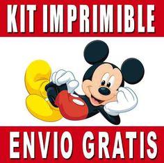 Kits imprimibles gratis de Mickey Mouse - Imagui