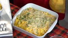 What to do with those leftovers on Thursday? Baked Macaroni and Cheese with Turkey Leftovers! #recipe