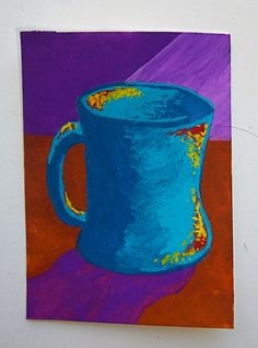 The Morning Cup of Coffee 143 ARTIST TRADING CARDS by MikeKrausArt