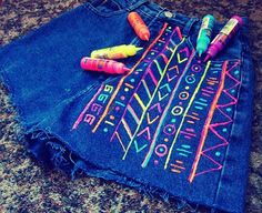 Shirt DIY. Would be SO cool with glow in the dark neon for a summer night and some photos!