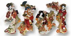De Tacones y Bolsos: Nuevos parches de geishas by La Carola