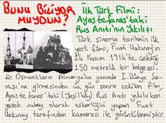 Bunu Biliyor muydun? - İlk Türk Filmi: Ayastefanos'taki Rus Anıtının Yıkılışı