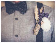 Vintage Farm Wedding Boutonniere