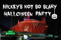 Mickey's Not-So-Scary Halloween Party Guide #DisneyVacation #MNSSHP