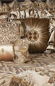 ACCENT PILLOWS...warm up your home with luxury accent pillows by Reilly-Chance Collection