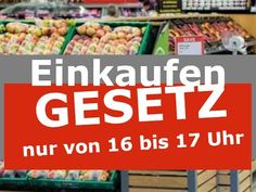 Gesetz - Einkaufen nur von 16 bis 17 Uhr | Flüchtlingswellen vor dem 2. WK Vegetables, Videos, Food, World War, Law, Waves, Shopping, Essen, Vegetable Recipes