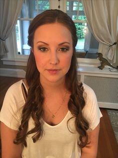 Bridal makeup by Kimberly Valosen