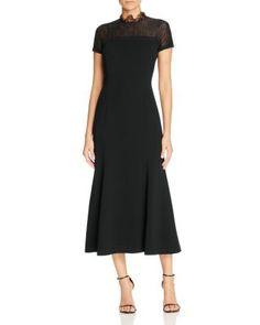 Lafayette 148 New York Finley Lace Combo Dress | Bloomingdale's