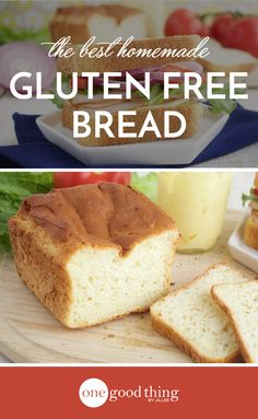 After hours of research and numerous attempts, I finally managed to bake up a delicious, springy loaf of gluten free bread. Give it a try for yourself!