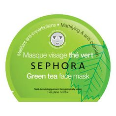 Shop SEPHORA COLLECTION's Face Masks at Sephora. These natural lyocell fiber masks each offer specific skin care benefits. Face Scrub Homemade, Homemade Face Masks, Diy Face Mask, Cucumber Face Mask, Green Tea Face, Fragrance Parfum, Face Care, Skin Care Tips, Active Ingredient