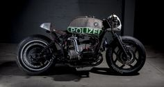 This ex-Police BMW R 80 RT has crossed over to the dark side | Classic Driver Magazine