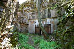 WWI ammo storage bunkers