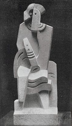 Jacques Lipchitz, 1919-20, Harlequin with Clarinet