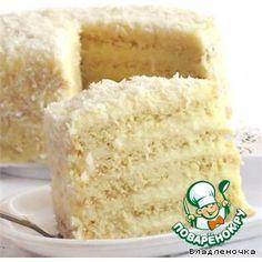 """Торт""""Raffaello"""""""