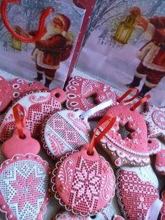 Мастер-класс по росписи новогодних пряников - Ярмарка Мастеров - ручная работа, handmade