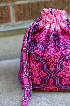 Lined Drawstring Bag