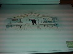 Drawing from the barn upstairs
