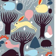 Latest Designer Fabric 'Huhuli organic cotton in grey, blue, light yellow' by Marimekko (FIN). Buy online or visti our fabric retail store in Christchurch. Pop Culture Art, Marimekko, Light Shades, Sewing Tutorials, Fabric Design, Yellow, Blue, Organic Cotton, Entertaining