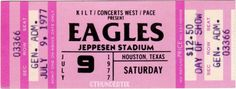 6 1973 77 The Eagles Vintage Unused Full Concert Tickets Scrapbooking Collect Eagles Tickets, Concert Tickets, Music Tickets, Rock N Roll Music, Rock And Roll, Billet Concert, Mundo Musical, Bedroom Wall Collage, Wall Art