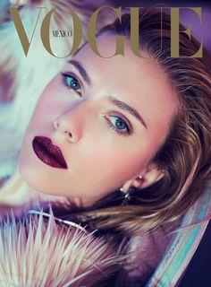 Scarlett Johansson - Vogue Mexico Dec 2013