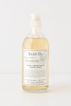 Barr-Co. Hand soap