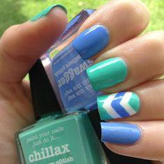 Instagram media by picturepolish - CUTE CHEVRON = 'Swagger & Chillax' nails by @cute_nail_dezigns LOVE thx Natalie :) Link to PP on-line in bio #picturepolish #polish #polishaddict #aussienails #vernis #lacquer #lovenails #lovemanicure #ignails #instanails #nail #nails #npa #nailart #nailpolish #nailpolishaddict #nailaddict #nailswag #nailporn #nailswatch #nailartwow #naildesign #naillacquer #nailsofinstagram #ongle