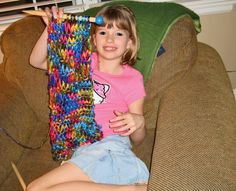 The Benefits, Basics, & Service Projects of Knitting for Kids Imagination Soup Fun Learning and Play Activities for Kids Knitting Club, Knitting For Kids, Loom Knitting, Sewing For Kids, Knitting Projects, Crochet Projects, Knitting Patterns, Sewing Projects, Crochet Patterns