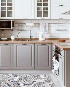 Home Renovation Kitchen Nicole Miller Cloudwalk Kitchen Mat Kitchen Mat, New Kitchen, Kitchen Decor, Kitchen Ideas, Awesome Kitchen, 10x10 Kitchen, Kitchen Counters, Kitchen Inspiration, Kitchen Islands