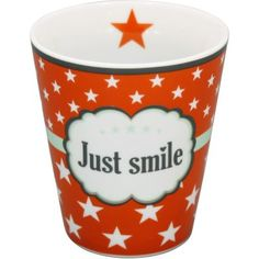 Krasilnikoff Happy Mug - Just Smile. $7.48