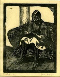 Helen Binyon, wood engraving