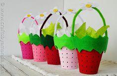baldes moranguinhos