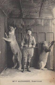 Mlle. Alexandre, circ.