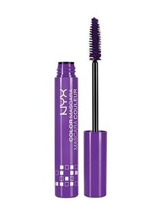 NYX Color Mascara in Forget Me Not (purple) | allure.com