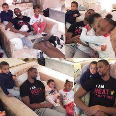 Chris Bosh and his family   Pinterest : @locoxlaxcoco